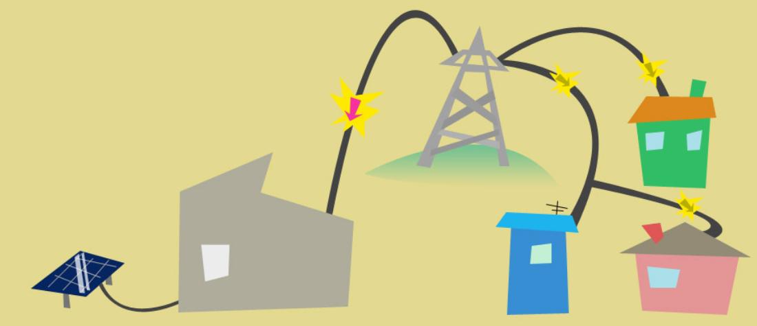 A screenshot from the Teslatown app