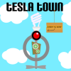 A screenshot from the Tesla Town app.
