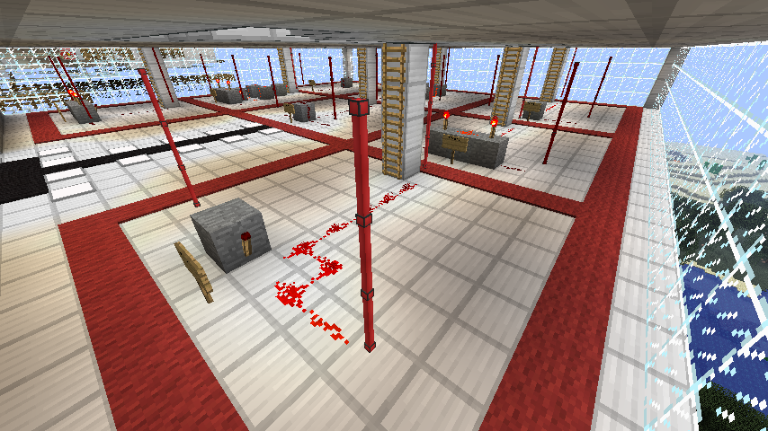 Underview of the redstone lab
