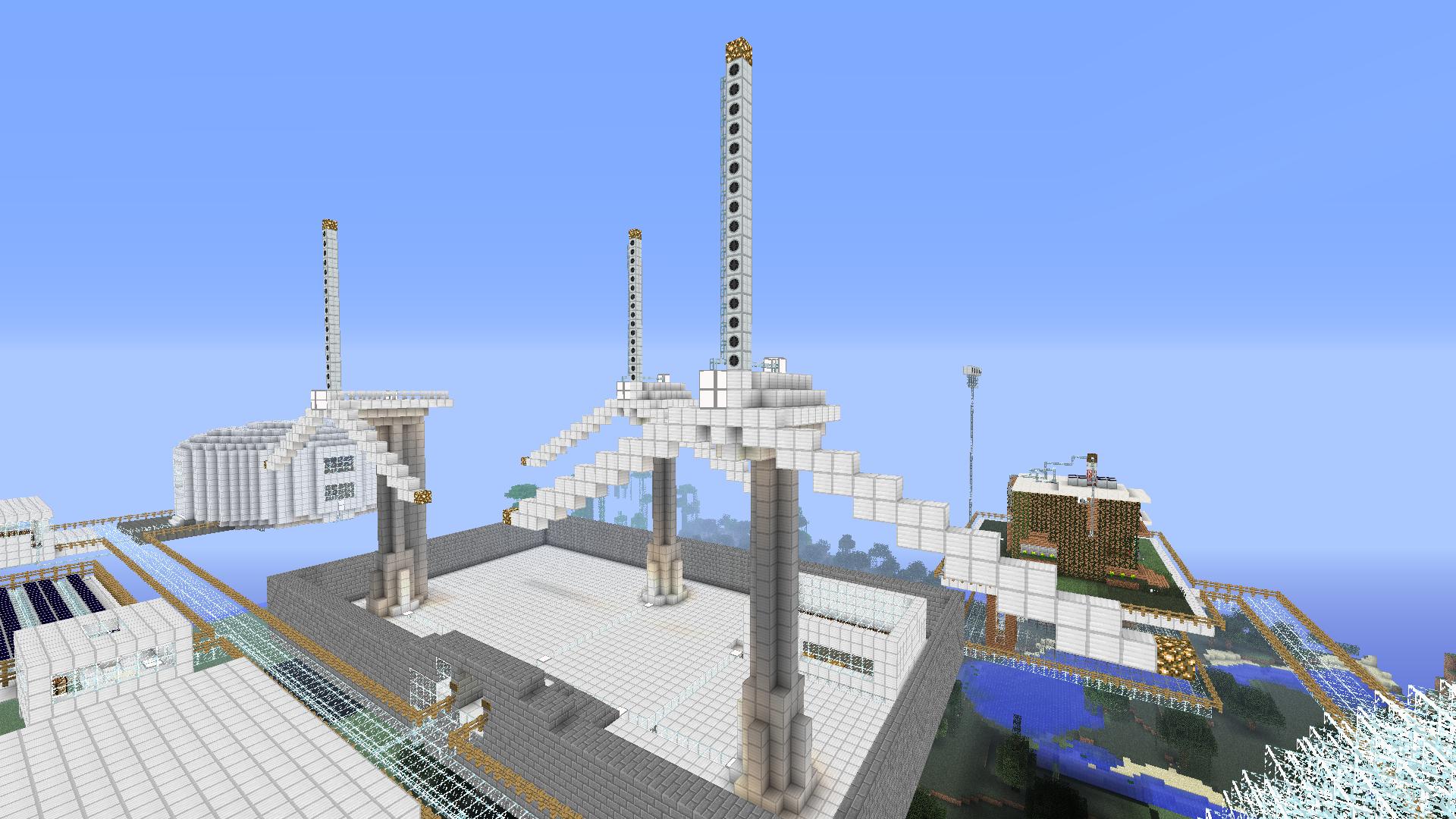 Wind Farm   CRE... Minecraft Windmill Farm